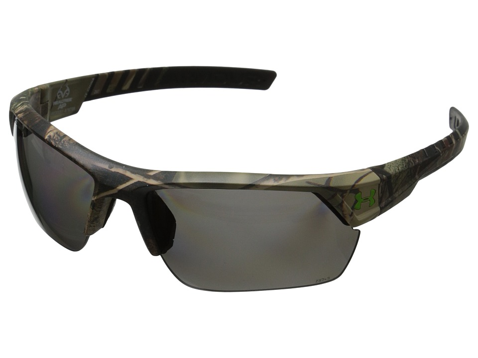 Under Armour - UA Igniter 2.0 (Storm ANSI Realtree/Black Frame/Gray Polarized Lens) Sport Sunglasses
