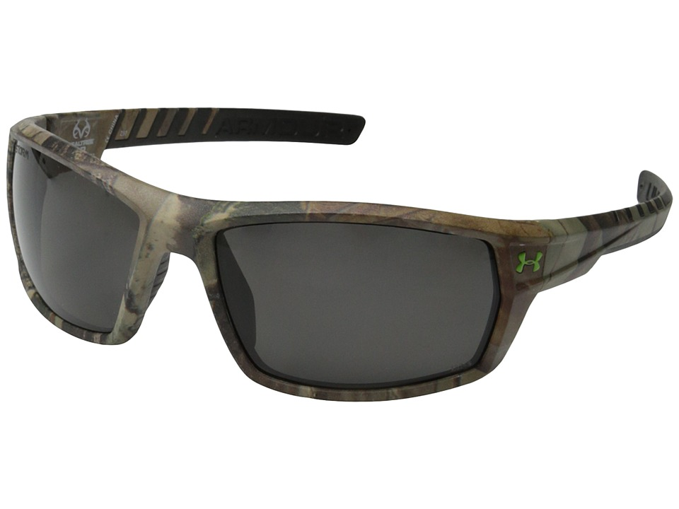 Under Armour - UA Ranger Storm (Storm ANSI Realtree/Black Frame/Gray Polarized Lens) Sport Sunglasses