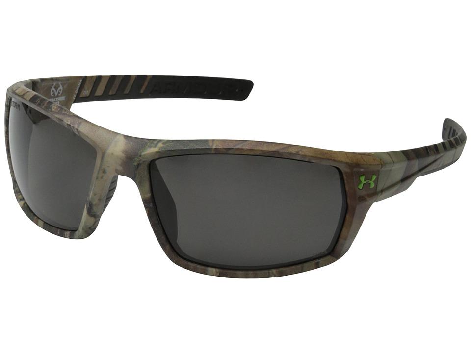 Under Armour - UA Ranger Storm (Storm ANSI Realtree/Black Frame/Gray Polarized Lens) Sport Sunglasses