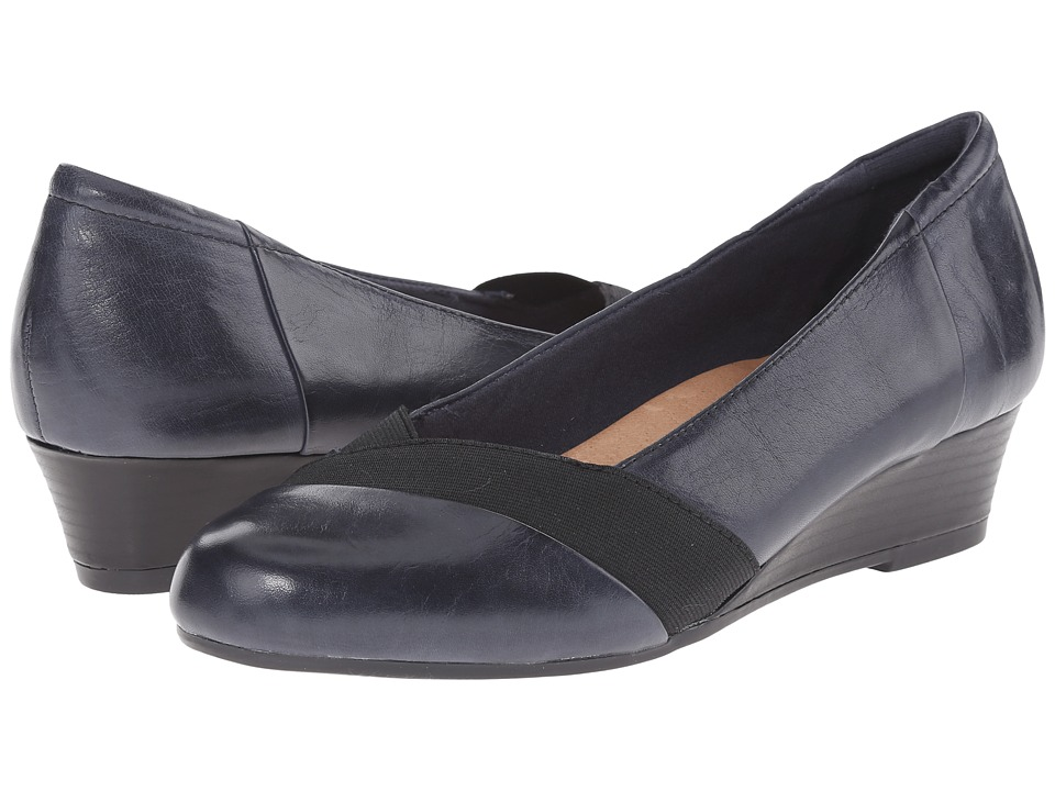 Earth - Elderberry (Admiral Blue Calf Leather) Women's Shoes