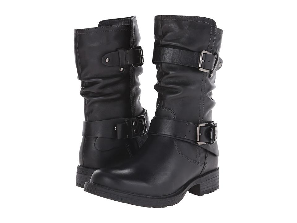 Earth Everwood (Black Calf Leather) Women