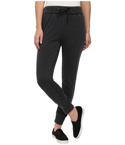 Volcom - Lived in Fleece Pants (Black) Women's Casual Pants