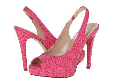 GUESS - Aerra (Pink/Pink Matte Snake) High Heels