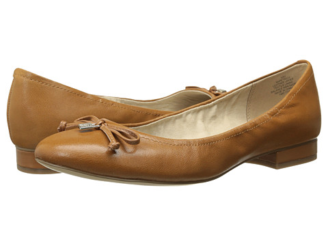 Anne Klein - Petrica (Taffy Cognac Leather) Women's Flat Shoes