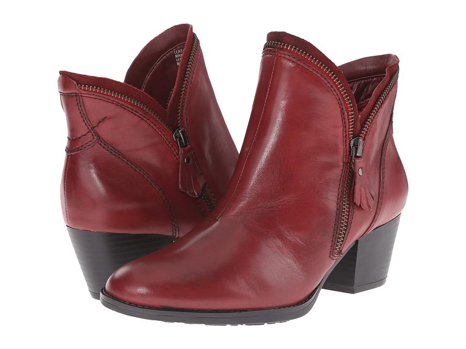 Earth Hawthorne (Bordeaux Calf Leather) Women