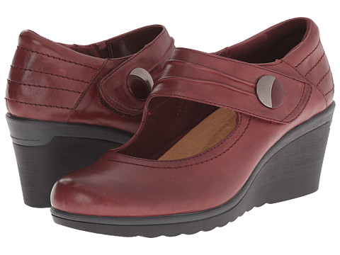 Earth - Heron (Merlot Calf Leather) Women's Shoes
