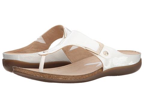 Anne Klein - Qual (White Snake) Women's Sandals