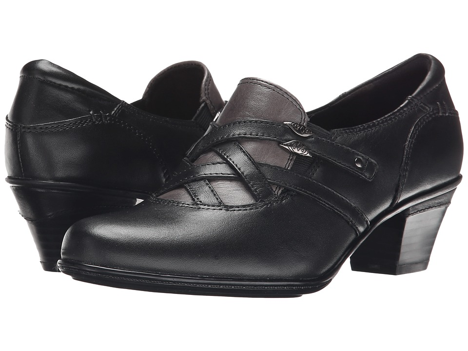 Earth - Kindle (Black Calf Leather) Women's Shoes
