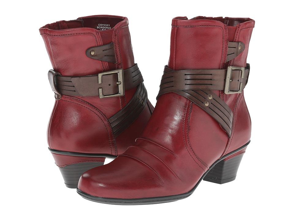 Earth Odyssey (Bordeaux Calf Leather) Women