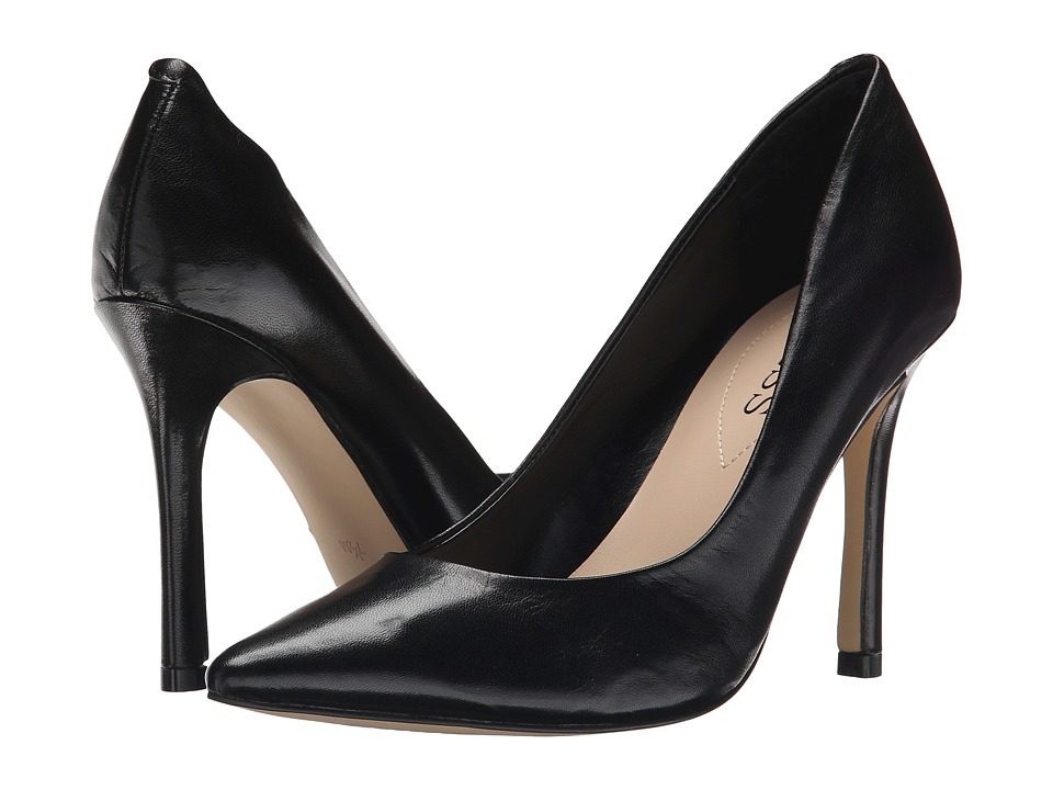 GUESS - Eloy (Black Leather) High Heels