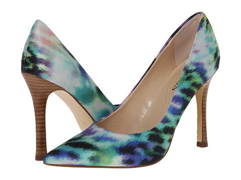 GUESS - Eloy (Watercolor Satin/Blue Multi) High Heels
