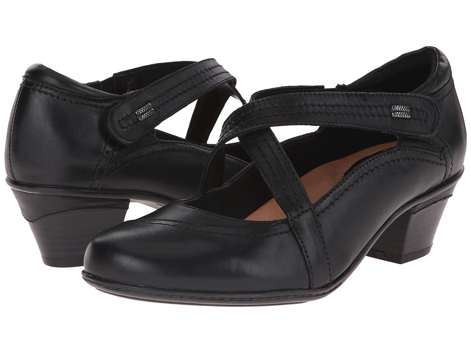 Earth - Passage (Black Calf Leather) Women's Shoes