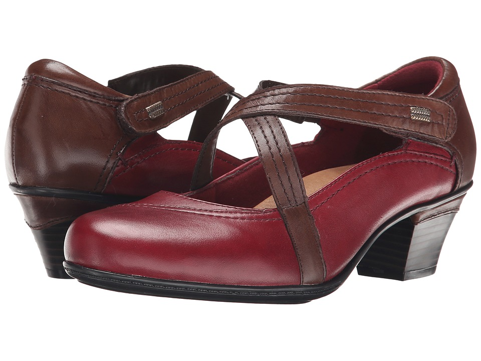 Earth - Passage (Bordeaux Calf Leather) Women's Shoes