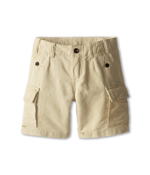 Paul Smith Junior - Cargo Shorts (Toddler/Little Kids) (Sand) Boy
