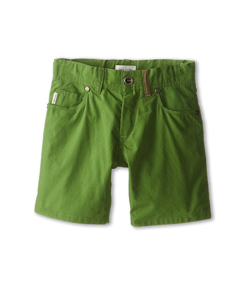 Paul Smith Junior - Shorts (Toddler/Little Kids) (Leaf Green) Boy's Shorts