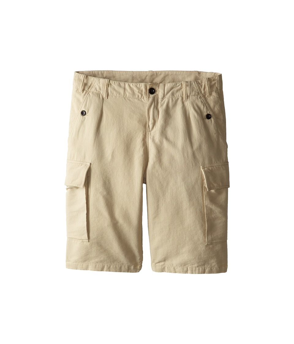 Paul Smith Junior - Cargo Shorts (Big Kids) (Sand) Boy