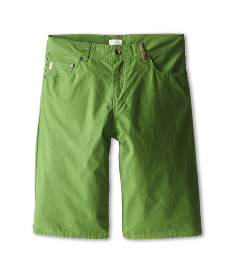 Paul Smith Junior - Shorts (Big Kids) (Leaf Green) Boy's Shorts