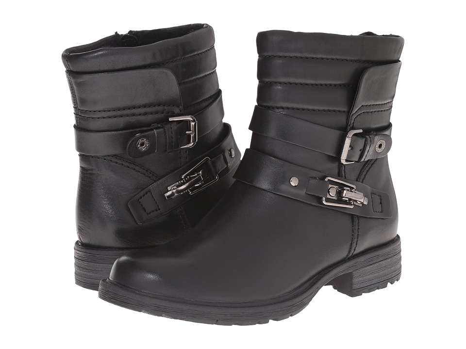 Earth Pepperidge (Black Calf Leather) Women