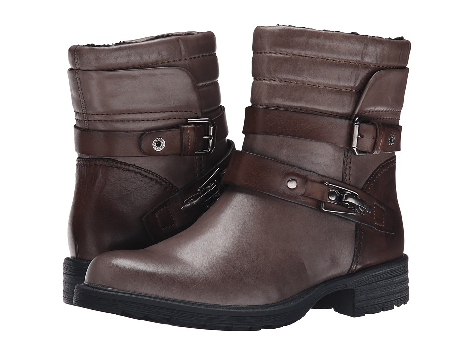 Earth Pepperidge (Storm Grey Calf Leather) Women