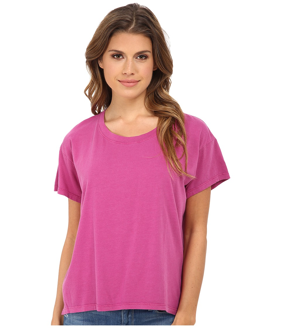Alternative - Modal Crew Neck T-Shirt (Sour Grape Wash) Women