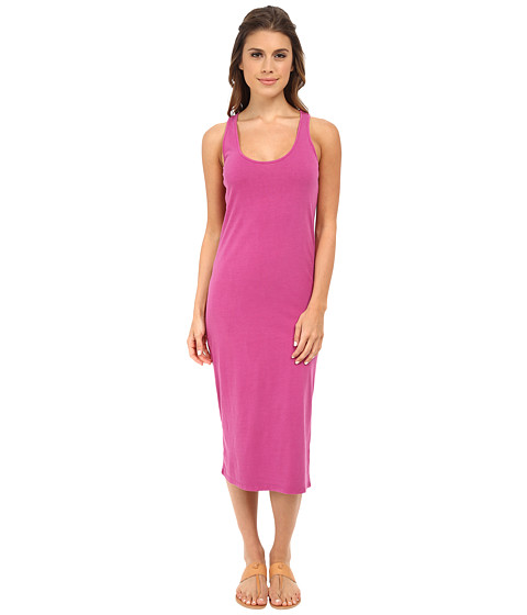 Alternative - Modal Racer Midi (Sour Grape Wash) Women's Dress