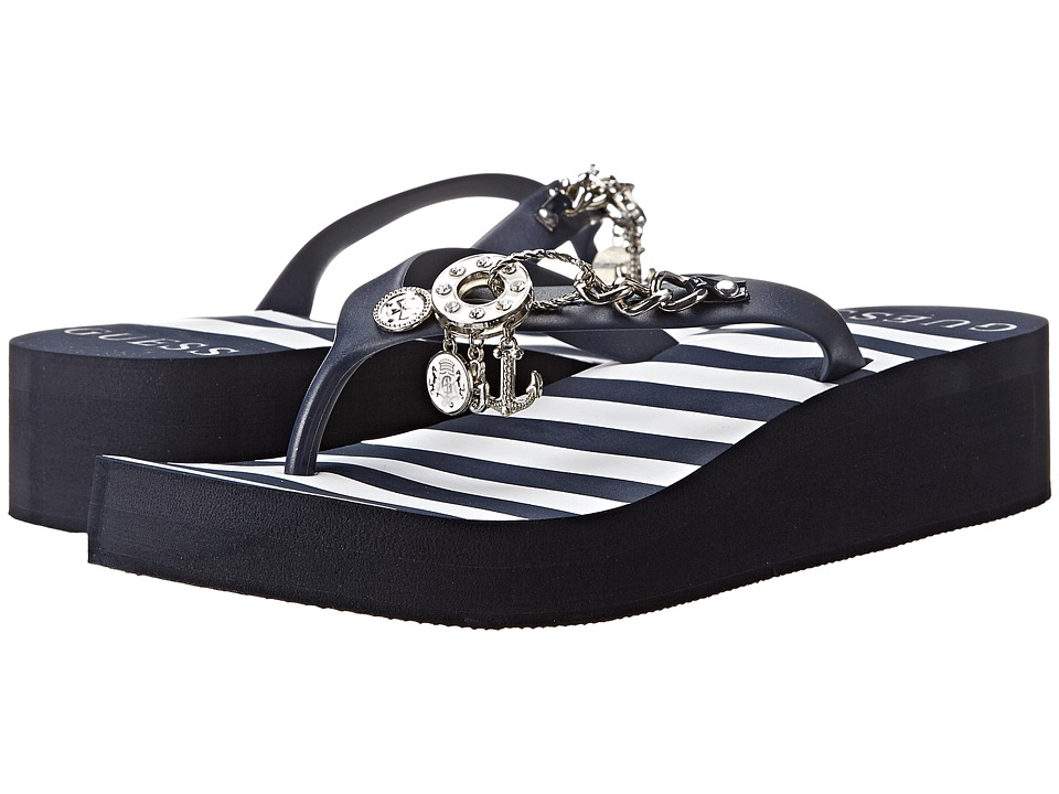 GUESS - Edgy (Navy/Navy) Women's Shoes