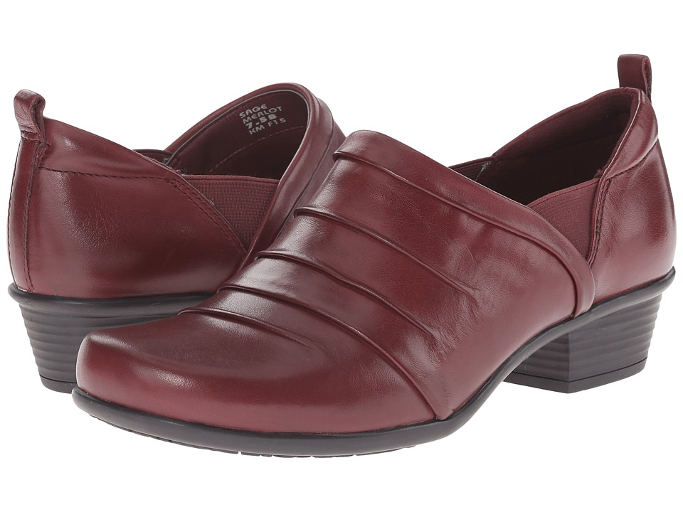 Earth - Sage (Merlot Calf Leather) Women's Shoes
