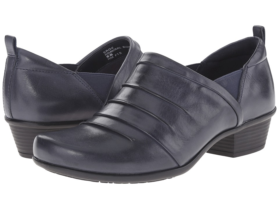 Earth - Sage (Admiral Blue Calf Leather) Women's Shoes