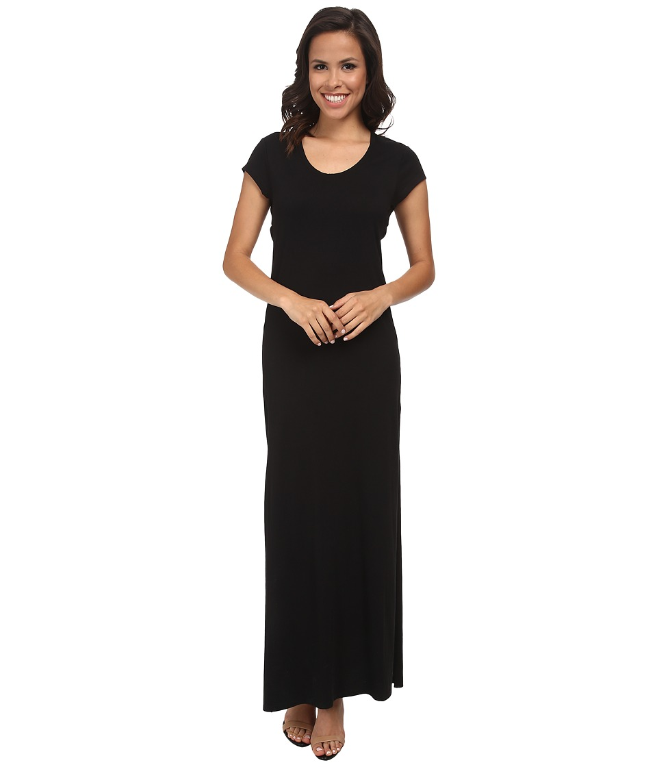 Alternative - Modal Cross Back Maxi (Black) Women's Dress