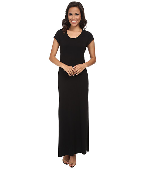Alternative - Modal Cross Back Maxi (Black) Women