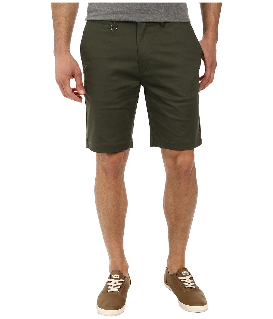Publish - Sloan Stretch Twill Shorts (Olive) Men's Shorts