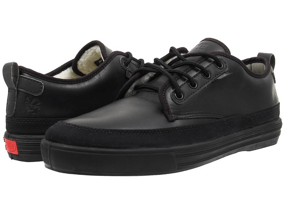 Chrome Ishak (Black Leather) Cycling Shoes