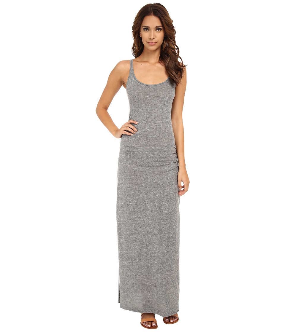 Alternative - Eco Jersey Ruched Maxi (Eco Grey) Women's Dress