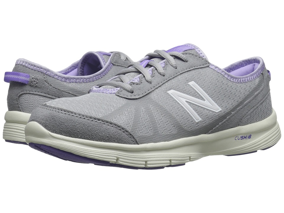 New Balance - WW511 - Fitness Walking (Grey/Purple) Women's Walking Shoes