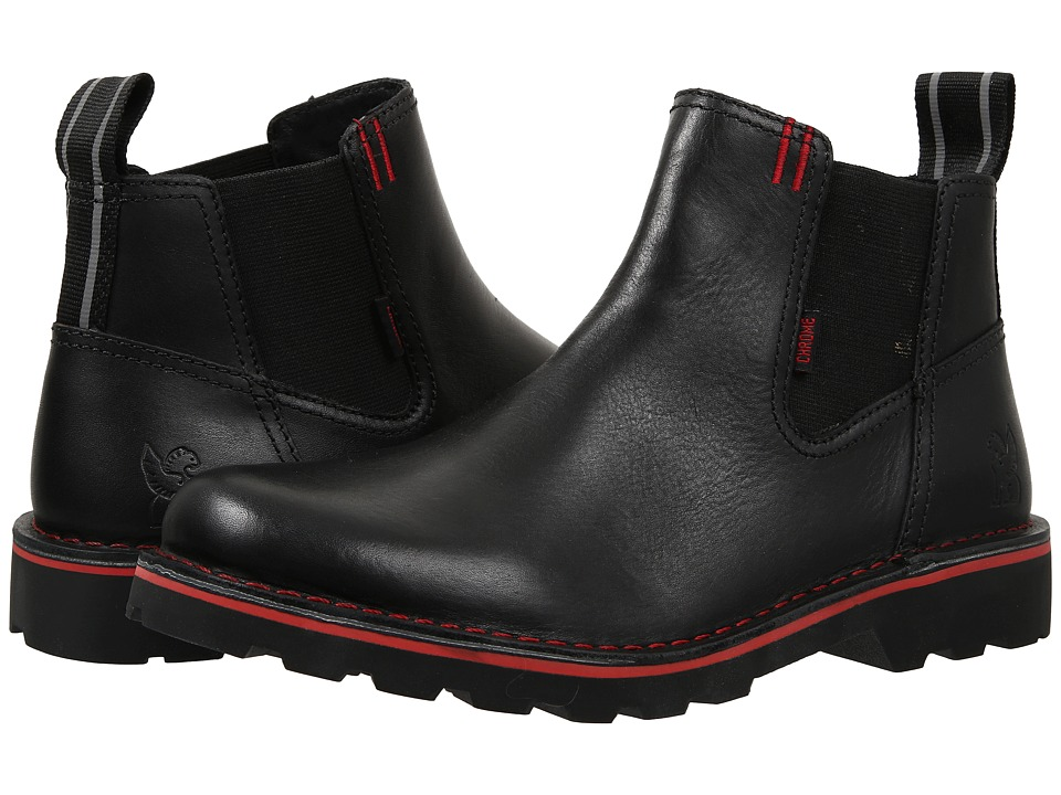 Chrome - 212 Chelsea Boot (Black) Pull-on Boots