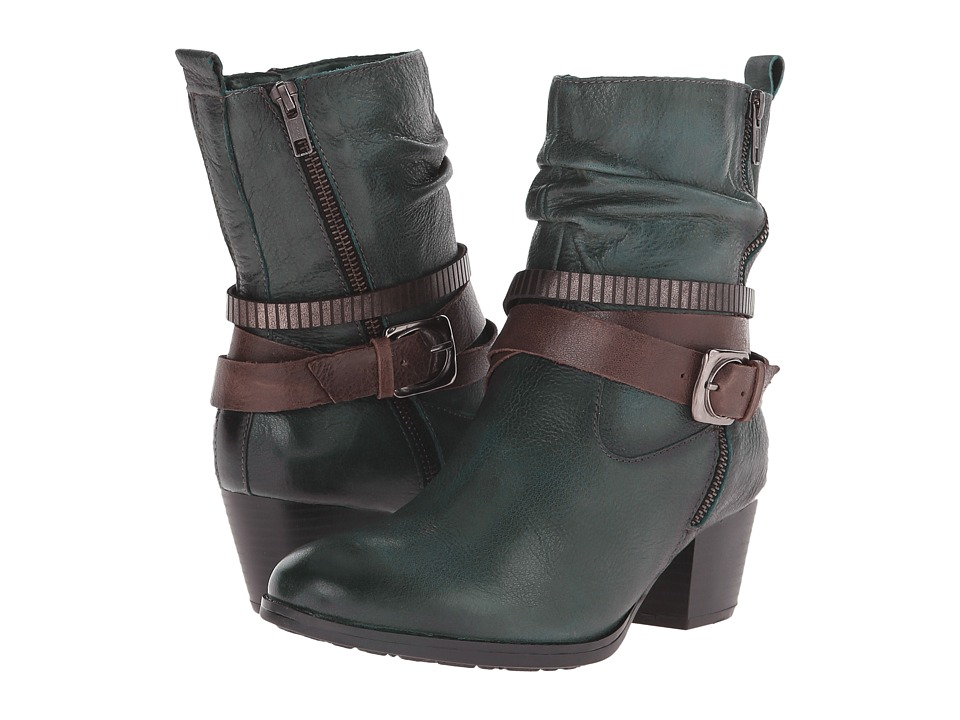 Earth - Spruce (Forest Green Brush Off Leather) Women