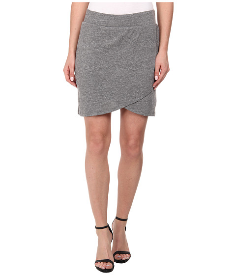 Alternative - Eco Jersey Wrap Skirt (Eco Grey) Women's Skirt