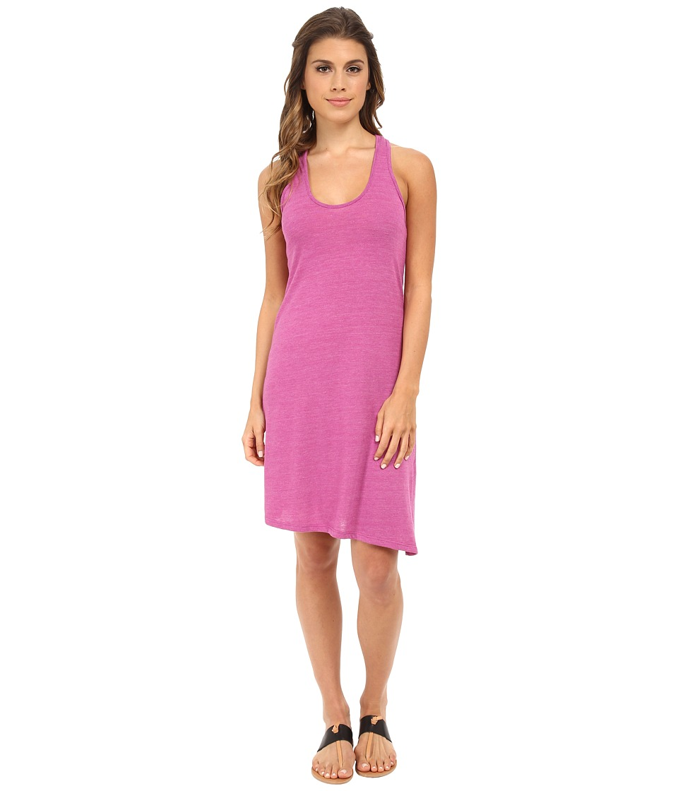 Alternative - Eco Jersey Twist Dress (Eco True Sour Grape) Women's Dress