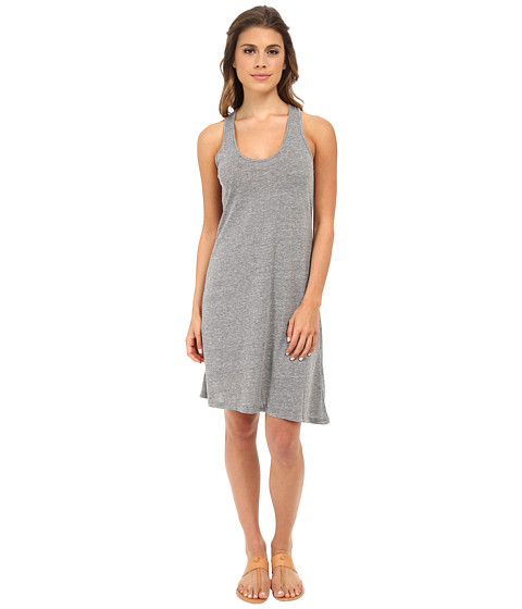 Alternative - Eco Jersey Twist Dress (Eco Grey) Women's Dress