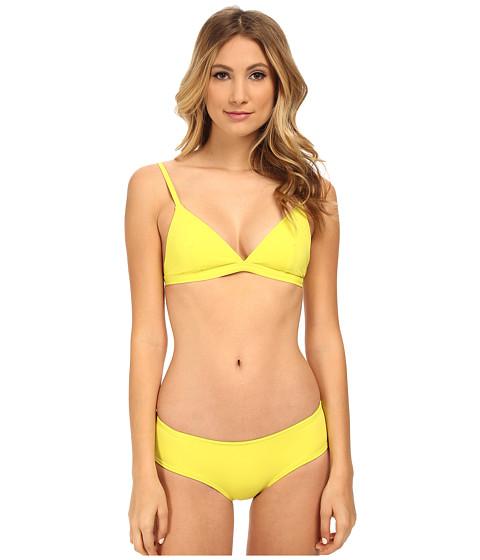 Proenza Schouler - Tie-Dye Solids Euro Triangle Sets (Sulphur) Women's Swimwear Sets