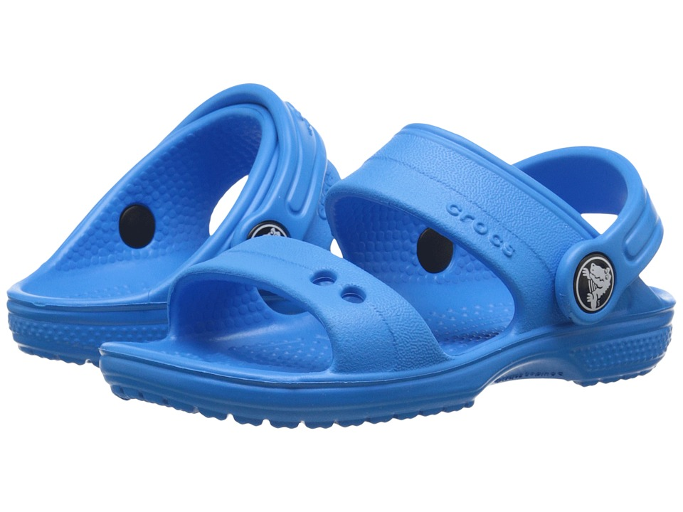 Crocs Kids - Classic Sandal (Toddler/Little Kid) (Ocean) Kids Shoes