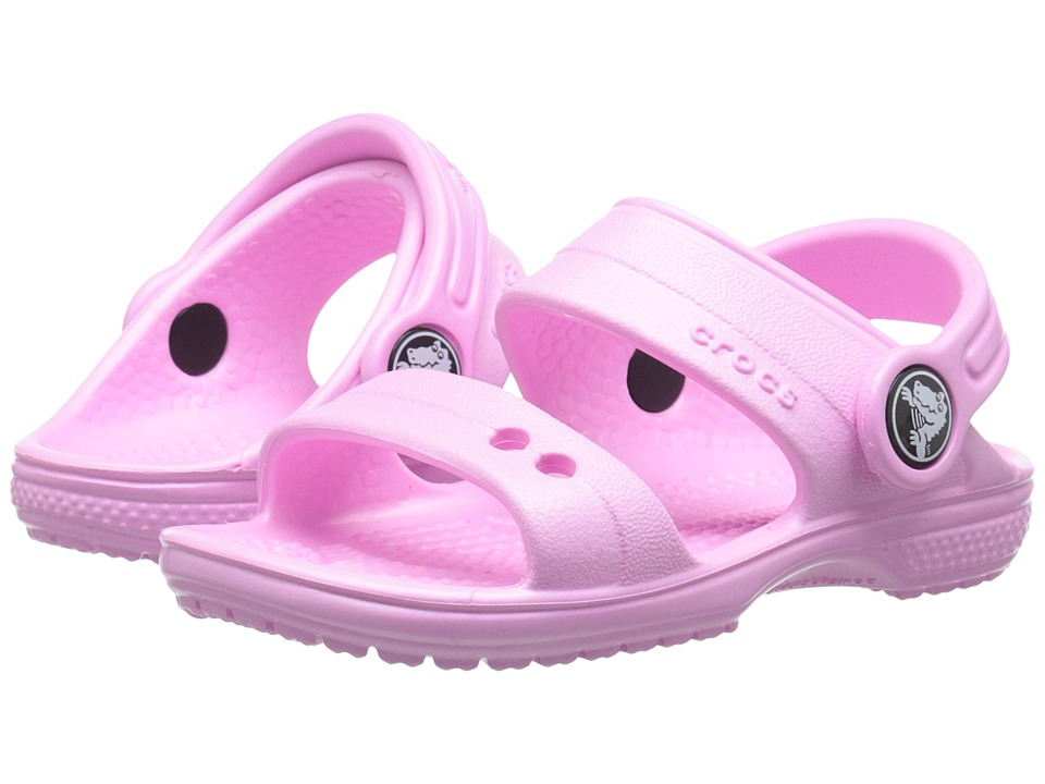 Crocs Kids - Classic Sandal (Toddler/Little Kid) (Carnation) Kids Shoes