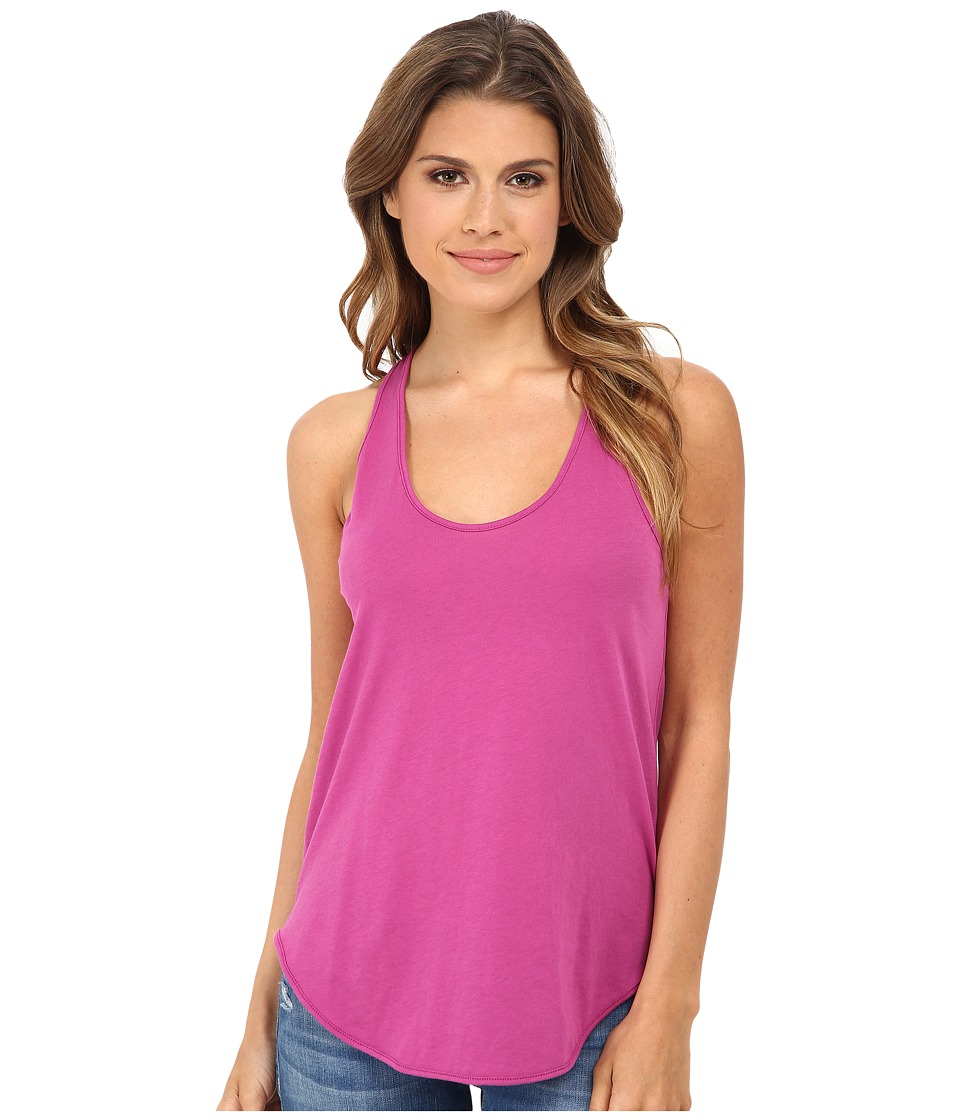 Alternative - Shirttail Racerback Tank Top (Sour Grape) Women's Sleeveless