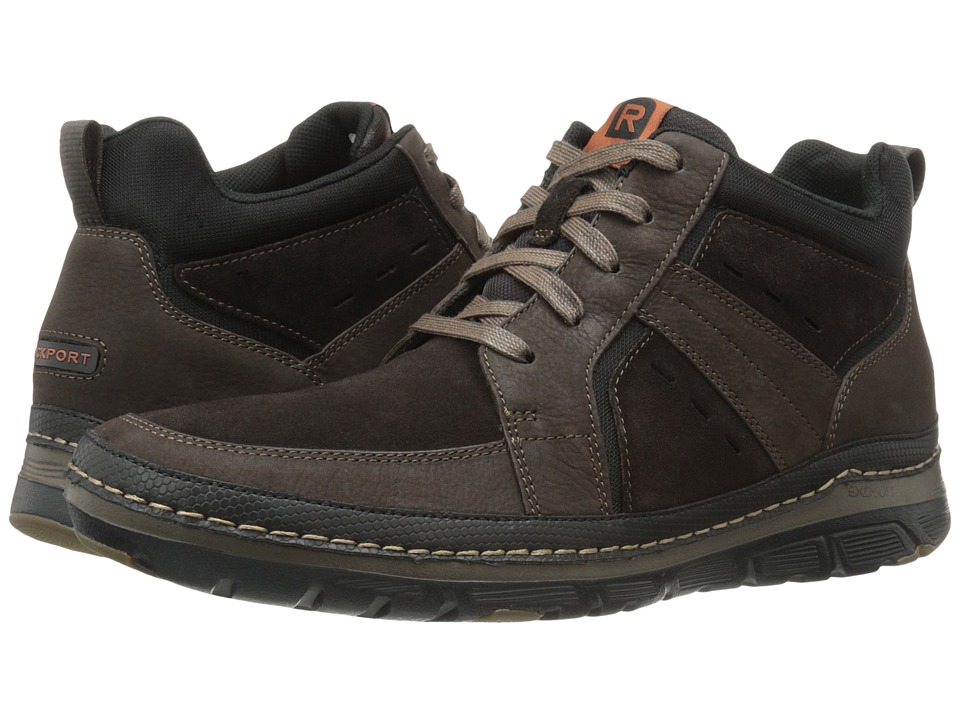 Rockport Activflex Rocsports Lite Boot (Dark Bitter Chocolate) Men
