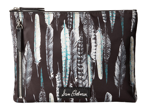Sam Edelman - Cody Pouch (Black Feather) Travel Pouch
