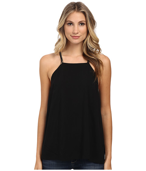 Alternative - Rayon Challis Tank Top (Black) Women's Sleeveless