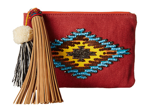 Sam Edelman - Carnie Tribal Pouch (Vreeland Red) Travel Pouch