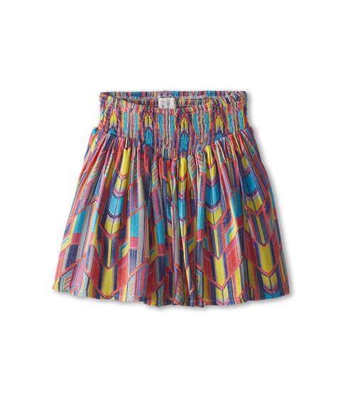 Ella Moss Girl - Geo Printed Challis Skirt (Big Kids) (Print) Girl
