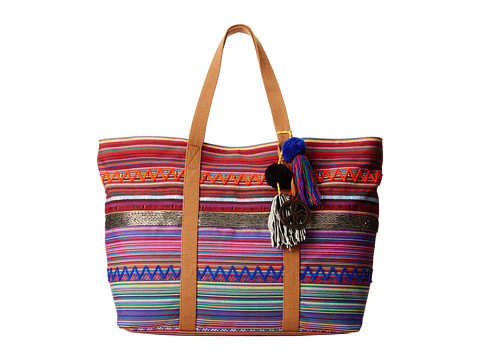 Sam Edelman - Tara Tribal E/W Tote (Multi) Tote Handbags