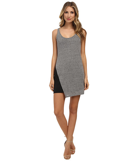 Alternative - Eco Jersey Asymmetrical Dress (Eco Grey) Women's Dress